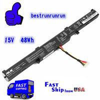 Genuine A41N1501 battery 48WH for ASUS ROG GL752VW G752VW N552V N552VX A41LK9H