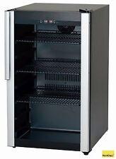 NordCap Getränkekühlschrank mit Glastür M 85 für Bar und Imbiss Gastlando