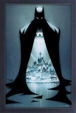 BATMAN DOORWAY 13x19 FRAMED GELCOAT DC COMICS BRUCE WAYNE ROBIN JOKER GOTHAM NEW