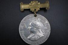 Vtg 1899 School Board for London Queen Victoria Attendance Medal Spink & Son