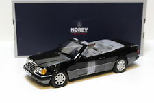 1:18 Norev Mercedes 300 CE-24 Cabriolet 1990 black NEW bei PREMIUM-MODELCARS