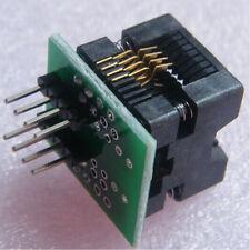 2Pcs W/ 150mil SOIC8 SOP8 to DIP8 EZ Programmer Adapter Socket Converter Module