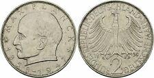 Deutschland BRD 2 Deutsche Mark 1959 D München Max Planck 1858-1947 Jaeger 392