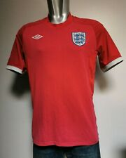 Official Vintage Tailored by Umbro England T-Shirt. Red