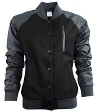 Popper Wool Casual Plus Size Coats & Jackets for Women