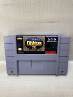 Obitus (Super Nintendo Entertainment System, 1994) SNES Tested Working Authe