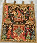 16714 Vintage German Tapestry After Medieval Example With Appliques in Relief
