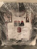 1992 Dream Team Autographed Team Signed Michael Jordan Jersey #9 w/ COA