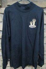 Souvenir Anvil Tall Stacks 2003 Tee Unisex Size XL Navy Cotton  Long Sleeve