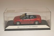 A2 1:43 STARTER T 111 PEUGEOT 306 CABRIOLET METALLIC MAROON MINT BOXED