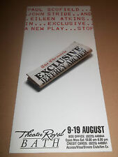 "THEATRE ROYAL BATH "" EXCLUSIVE (JEFFREY ARCHER) "" THEATRE FLYER / BOOKLET"