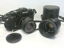 Richoh KR-10 SLR CAMERA and extra Lens