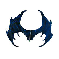 """24.5"""" Large Adult Game Thrones Harry Potter Halloween Costume Dragon Wings Blue"""