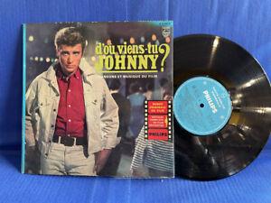 JOHNNY HALLYDAY VIENS TU 25CM B76245 ORIGINAL FRANCE LP EXC+