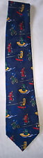 Mobile cell phone Novelty Cartoon Fun Tie run, bike,canoe, water ski, active