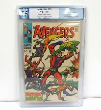 Avengers #55 Pgx 7.5 Vf Ow/White 1st Appearance of Ultron / Avengers 2 Movie