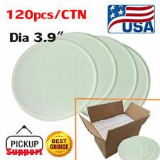 Us 120pcsctn Round Sublimation Blank Glass Coaster Dia 39 Mug Coaster