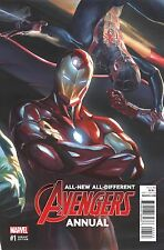 Marvel All New All Different Avengers Annual #1 Ross Variant Nm 2016