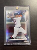 2019 Bowman Platinum Pete Alonso Rookie #20 New York Mets!!