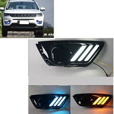 For Jeep Compass 2017-19 LED DRL Daytime Running Light/Front Fog Lights MO
