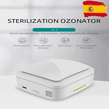 Generador de ozono portátil 100mg/hora purificador de aire y limpiador bacterias