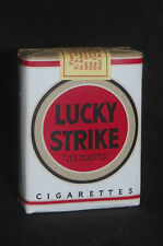 VINTAGE LUCKY STRIKE,1942 (First white) CIGARETTE PACK wz-qm prop