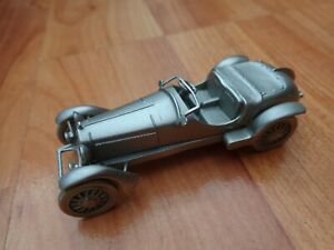 DANBURY MINT CLASSIC 1933 ALFA ROMEO 8C 2300 PEWTER COLLECTABLE MODEL CAR