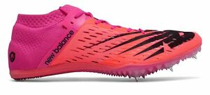 New Balance Unisex MD800v6 Track Spike Shoes Pink with Pink