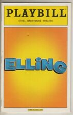 "Brendan Fraser & Denis O'Hare    ""Elling""    Playbill    BROADWAY   2010"