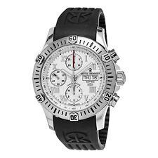 Revue Thommen Men's Airspeed Black Rubber Strap Automatic Date Watch 16071.6838