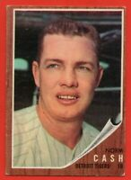 1962 Topps #250 Norm Cash EX-EX+ Detroit Tigers FREE SHIPPING