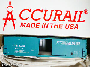 Accurail HO #5554 (Rd #32009) P&LE / Pittsburgh & Lake Erie / 50' Welded Steel