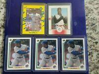 Ken Griffey Jr Baseball Card Lot of 5 Mariners / Reds HOF