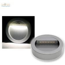 LED Applique aluminium-argent à 12V, mur/sockel-einbaustrahler