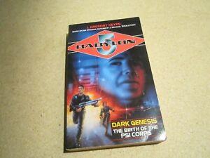 Babylon 5 Dark Genesis The Birth of the PSI Corps Paperback Book 1998