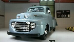 G LGB 1:24 25 Scale Ford F1 F-1 Pickup Ute Van 1948 Diecast Very Detailed Model