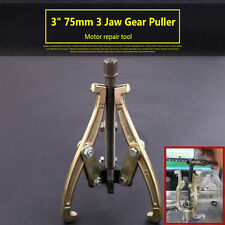 3 Jaw 3inch 75mm Gear/Hub Bearing Puller Reversible Wheel Pulley Remover Tool