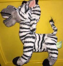 Madagascar Zebra Marty Plush Stuffed Animal Russ Dreamworks