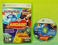 PopCap Arcade Vol. 1 Pop Cap  - Microsoft Xbox 360  Game - Tested Works