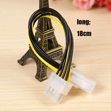 1X New ATX Male to 4Pin Female PC CPU Power Supply Extension Cable Cord Adapter