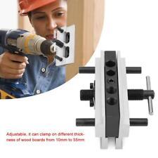 Woodworking Doweling Jig Tool Metal Drill Dowel Hole Self Centering Locator DIY