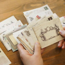 New 60pcs Retro Ancien Mini Paper Wedding Invitation Envelope Card Gift Hot Sale