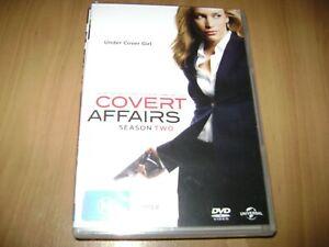 covert affairs dvd free postage tv drama season 2 new and sealed
