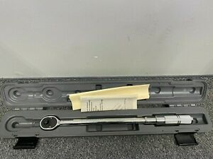 "PROTO J6068C Micrometer Torque Wrench,1/2"" Drive Size"