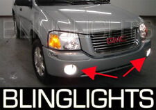 2002-2011 GMC Envoy Blue Angel Eye Driving Lights Fog Lamps Kit