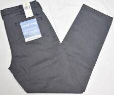 Dockers Pants Men's 28x32 Clean Khaki Slim Tapered Stretch Twill Navy Grey P303