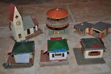 Lot of Faller Plastic HO City Structures for Marklin, Fleischmann, Roco