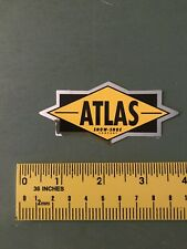 atlas snowshoes Chrome Decal/sticker
