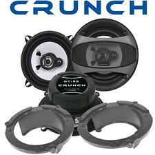 Crunch Lautsprecher 13cm & Adapterringe für Mazda 2 Fronttüren