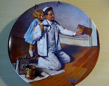 """Norman Rockwell - Collector Plate # F3769 """"The Painter"""""""